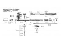 BADGER RK-058 Ugello ultra fine con protezione