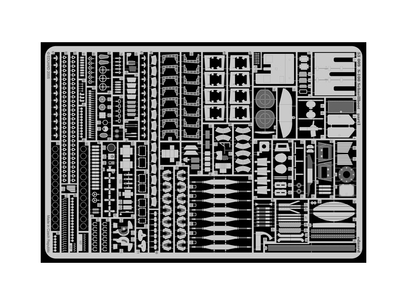 FOTOINCISIONI EDUARD PER S-100 Schnellboot (Revell) - 1:72