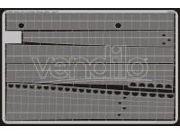 FOTOINCISIONI EDUARD PER Gato class fuselage hing.(Revell)-1:72