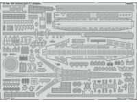 FOTOINCISIONI EDUARD PER USS Arizona part 2-catapults 1:200 (Trumpeter)