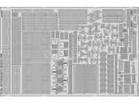 FOTOINCISIONI EDUARD PER USS Arizona part 3-life boats 1:200 (Trumpeter)