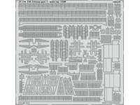 FOTOINCISIONI EDUARD PER USS Arizona part 4- main top 1:200 (Trumpeter)