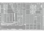 FOTOINCISIONI EDUARD PER USS Missouri p.7- superstructure 1:200 (Trumpeter)