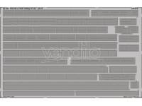 FOTOINCISIONI EDUARD PER Fletcher 1942 railings (Revell) 1:144