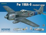 EDUARD KIT MODELLISMO AEREO Fw 190A standard wings (Weekend Edition)