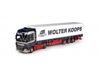 "MODELLISMO HERPA MODELLINO CAMION DAF XF Euro 6 SSC ""Wolter Koops"" 1/87"