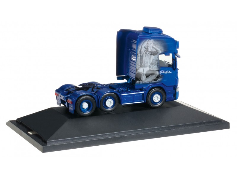 "MODELLISMO HERPA MODELLINO MOTRICE CAMION Scania R TL 6x2 ""Coles & Sons customs"" 1/87"