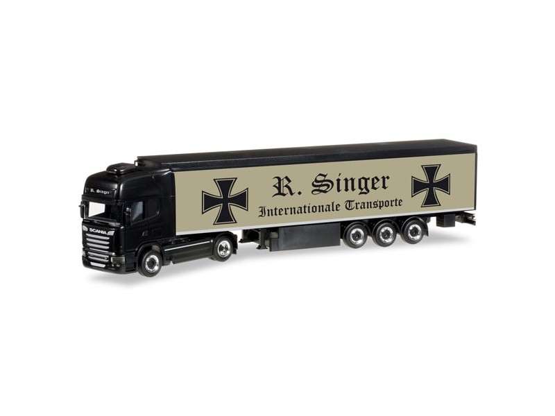 "MODELLISMO HERPA MODELLINO CAMION Scania R 2013 TL ""Roland Singer"" 1/87"