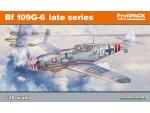EDUARD KIT MODELLISMO AEREO Bf 109G-6 late series (Profipack)