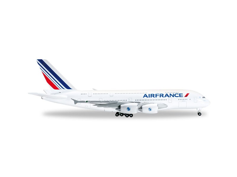 MODELLISMO HERPA MODELLINO AEREO F-HPJJ Air France Airbus A380-800