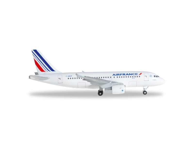 MODELLISMO HERPA MODELLINO AEREO F-GRXF Air France Airbus A319