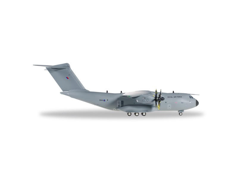 MODELLISMO HERPA MODELLINO AEREO ZM400 Royal Air Force Airbus A400M Atlas