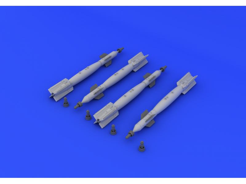 EDUARD BRASSIN MODELLISMO 1/32 set bombe guidate per aereo GBU-12