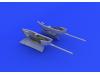 EDUARD BRASSIN MODELLISMO 1/48 cannon pods per Bf 109 (Eduard)