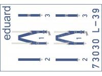 FOTOINCISIONI MODELLISMO EDUARD PER L-39 seatbelts SUPERFABRIC (Eduard)