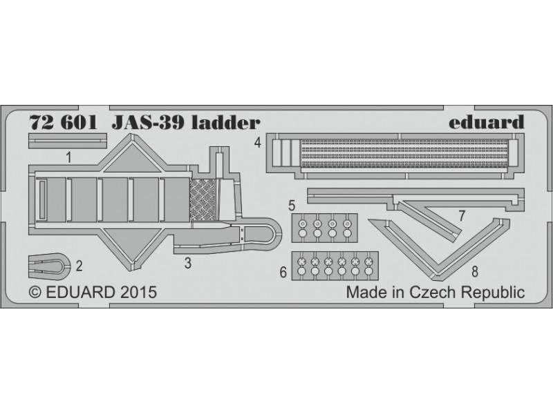 FOTOINCISIONI MODELLISMO EDUARD PER JAS -39 ladder (Revell)