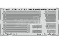 FOTOINCISIONI MODELLISMO EDUARD PER Avia B.534 wires & stretchers (Eduard)