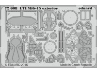 FOTOINCISIONI MODELLISMO EDUARD PER UTI MiG-15 exterior (Eduad)