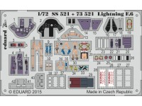 FOTOINCISIONI MODELLISMO EDUARD PER Lightning F.6 self ad (Airfix)