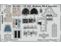 FOTOINCISIONI MODELLISMO EDUARD PER Defiant Mk.I self ad (Airfix)