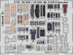 FOTOINCISIONI MODELLISMO EDUARD PER He 111P-2 interior self ad (Airfix)
