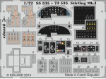 FOTOINCISIONI MODELLISMO EDUARD PER Stirling Mk.I (Italeri)