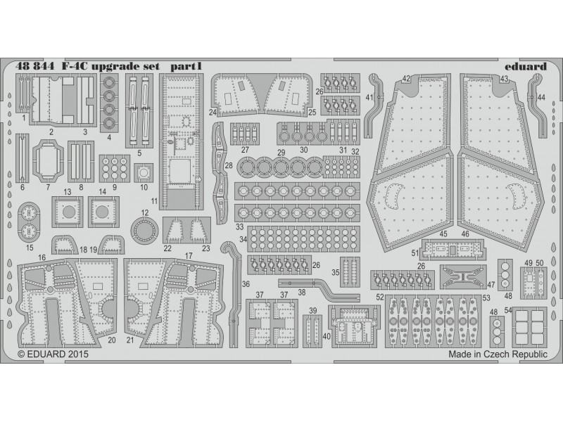 FOTOINCISIONI EDUARD 1/48 PER F-4C upgrade set (Eduard)