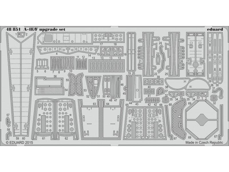 FOTOINCISIONI EDUARD 1/48 PER A-4E/F upgrade set (Eduard/Hasegawa)
