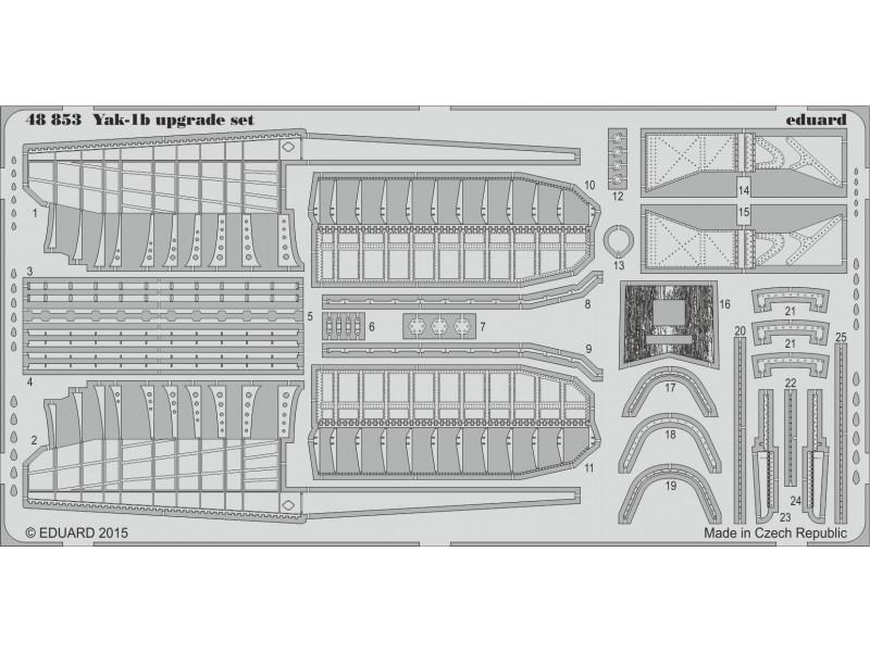 FOTOINCISIONI EDUARD 1/48 PER Yak-1b upgrade set (Eduard)