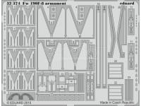 FOTOINCISIONI EDUARD 1/32 PER Fw 190F-8 armament (Revell)
