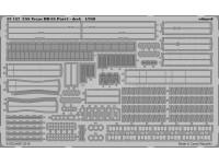FOTOINCISIONI EDUARD 1/350 USS Texas pt. 4 deck (Trumpeter)