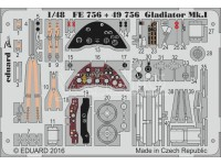 FOTOINCISIONI EDUARD 1/48 Gladiator Mk.I (Merit)