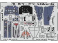 FOTOINCISIONI EDUARD 1/48 Su-25K interior (SMER)