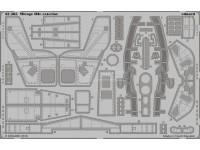 FOTOINCISIONI EDUARD 1/32 Mirage IIIc exterior (Italeri)