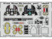 FOTOINCISIONI EDUARD 1/32 Mirage IIIc interior (Italeri)