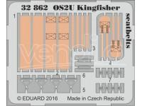 FOTOINCISIONI EDUARD 1/32 OS2U Kingfisher seatbelts (KittyHawk)