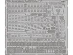 FOTOINCISIONI EDUARD 1/72 German Submarine Type IX C/40 hull pt.1(Revell)
