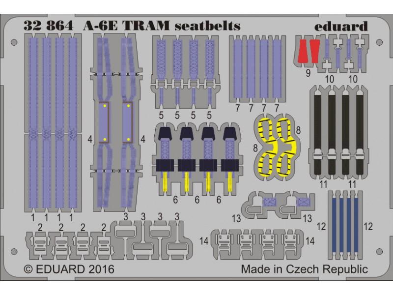 FOTOINCISIONI EDUARD 1/32 A-6E TRAM seatbelts (Trumpeter)