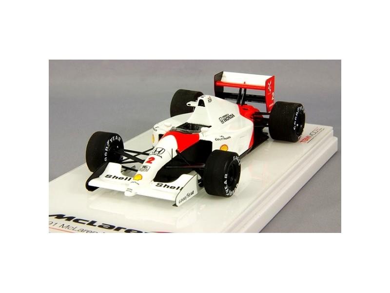 TSM MODEL MODELLINO AUTO 1:43 McLAREN MP4/6 N.2 G. BERGER WINNER JAPANESE GP 1991