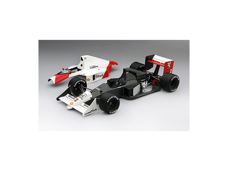 TSM MODEL MODELLINO AUTO 1:18 McLAREN MP4/5 N.2 ALAIN PROST 2ND PLACE GP MONACO WORLD CHAMPION 1989