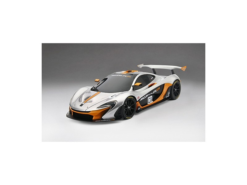 TSM MODEL MODELLINO AUTO 1:18 McLAREN P1 GTR PEBBLE BEACH 2014