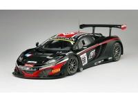 TSM MODEL MODELLINO AUTO 1:18 McLAREN 12C GT3 n.98 TOTAL ART GRAND PRIX 24H SPA 2014