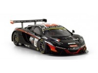 TSM MODEL MODELLINO AUTO 1:43 McLAREN 12C GT3 n.98 TOTAL ART GRAND PRIX 24H SPA 2014