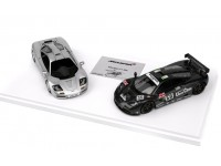 TSM MODEL MODELLINO AUTO 1:43 McLAREN F1 & F1 GTR TWO CARS SET AUTOGRAFATA DA GORDON MURRAY