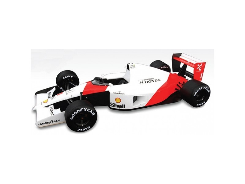 TSM MODEL MODELLINO AUTO 1:43 McLAREN MP4/6 n.1 A. SENNA WINNER GP MONACO WORLD CHAMPION 1991