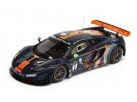 TSM MODEL MODELLINO AUTO 1:18 McLAREN MP4-12C GT3 n.88 DRAGON 24H SPA 2012