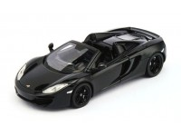 TSM MODEL MODELLINO AUTO 1:43 McLAREN MP4-12C SPIDER 2013 CARBON BLACK