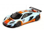 TSM MODEL MODELLINO AUTO 1:43 McLAREN MP4-12C GT3 n.9 GULF 24H SPA 2012