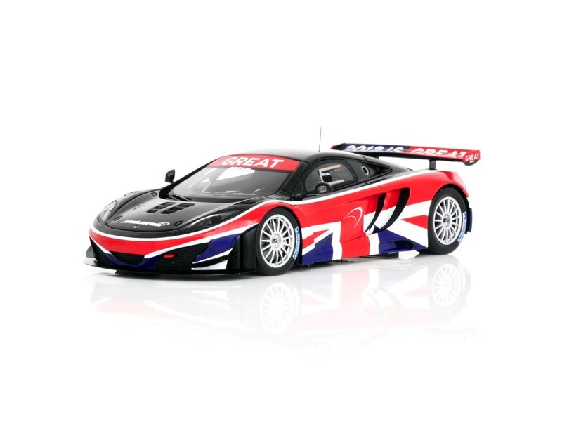 TSM MODEL MODELLINO AUTO 1:43 McLAREN MP4-12C GT3 GOODWOOD FESTIVAL OF SPEED 2013