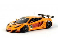 TSM MODEL 1/43 McLAREN MP4-12C GT3 n.60 24H SPA 2011 MODELLINO